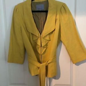 Classiques Entier linen jacket, size XL, EUC